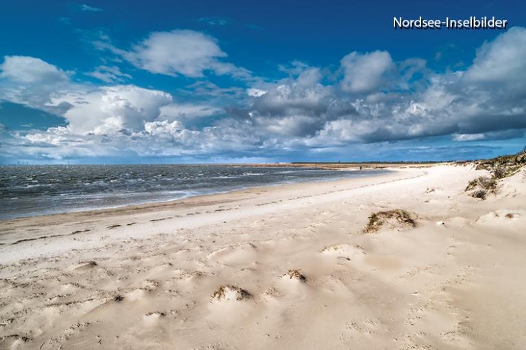 | Nordseeinseln | Wangerooge | ...Strand im Osten an der Wattseite der Insel