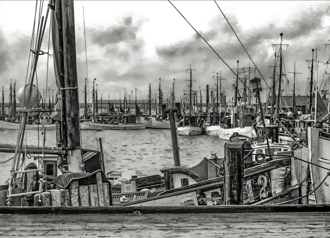   Nordseeinseln   Sylt   List   ...Lister Hafen