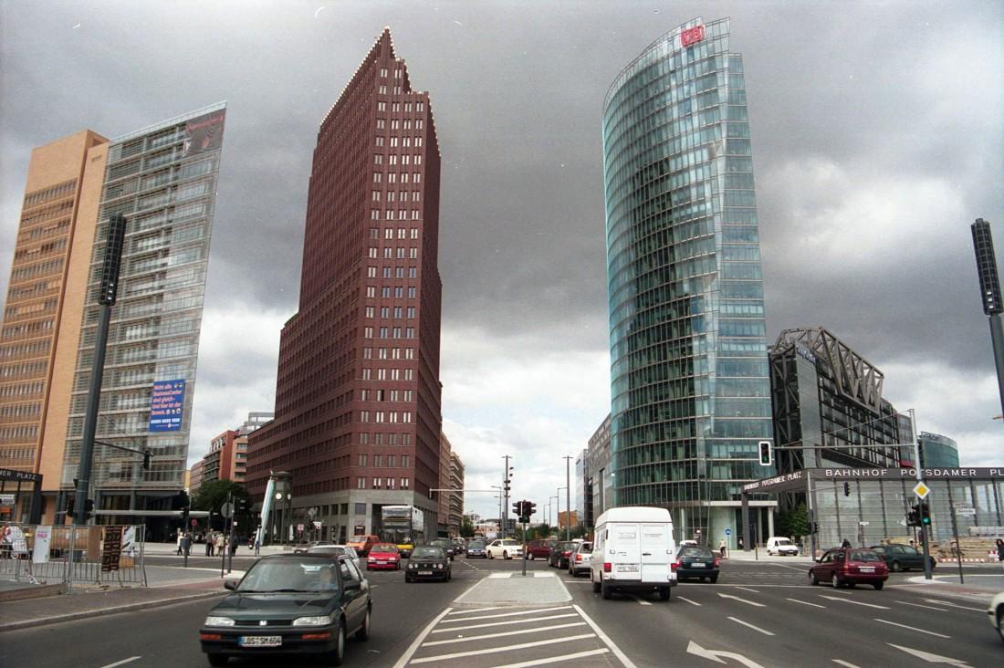 2001, so sieht der neue Potsdamer Platz nun aus