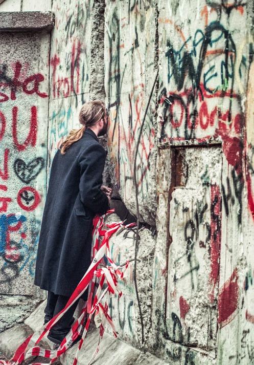 Mauer-Durchblick