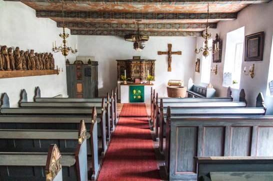 Halligkirche von Oland